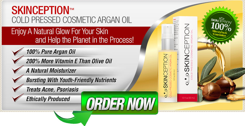 Buy Skinception Argan Oil Now